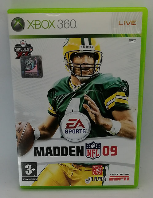 Madden NFL 09 for Microsoft Xbox 360