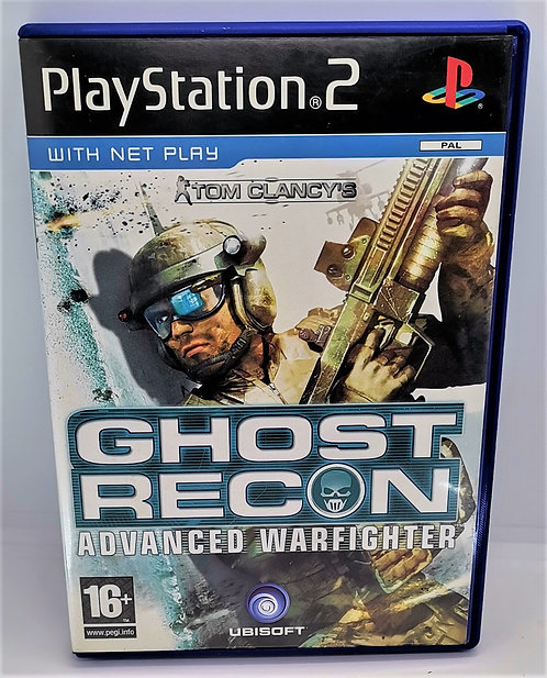 Tom Clancy's Ghost Recon: Advanced Warfighter for Sony PlayStation 2 PS2