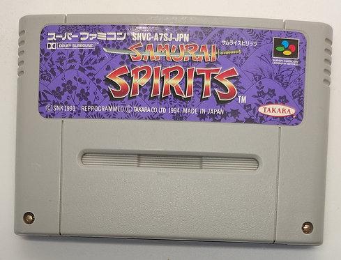 Samurai Spirits for Nintendo Super Famicom