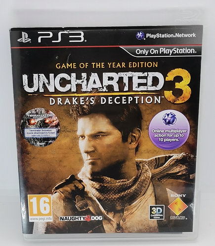 Uncharted 3: Game of the Year Edition for Sony PlayStation 3 PS3