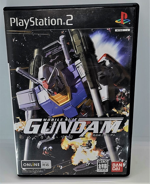 Mobile Suit Gundam: Encounters in Space for Sony PlayStation 2 PS2
