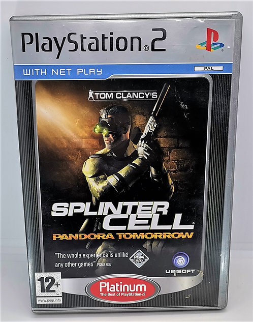 Tom Clancy's Splinter Cell: Pandora Tomorrow for Sony PlayStation 2 PS2
