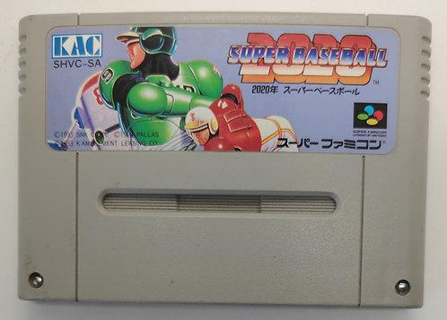 Super Baseball 2020 for Nintendo Super Famicom