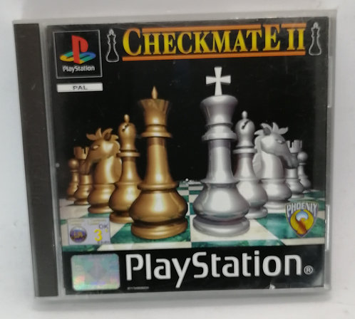 Checkmate II (2) for Sony PlayStation PS1