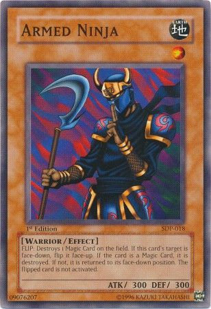 Yu-Gi-Oh! Card SDP-018 Armed Ninja