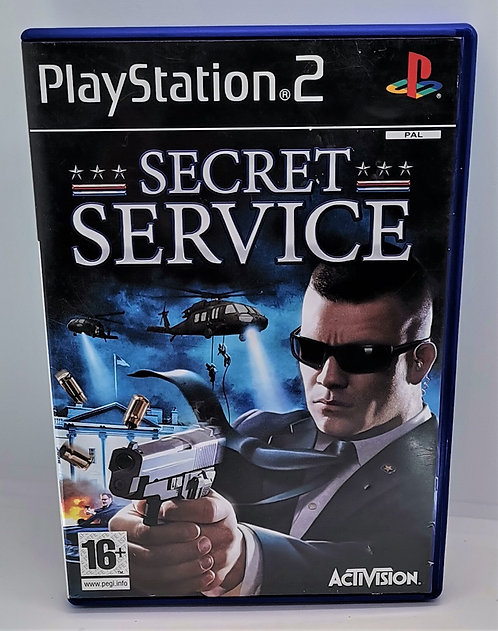 Secret Service for Sony PlayStation 2 PS2