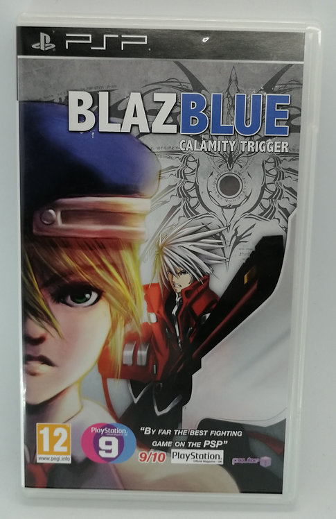 BlazBlue: Calamity Trigger for Sony PlayStation Portable PSP