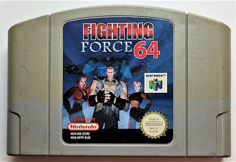 Fighting Force 64 for Nintendo N64