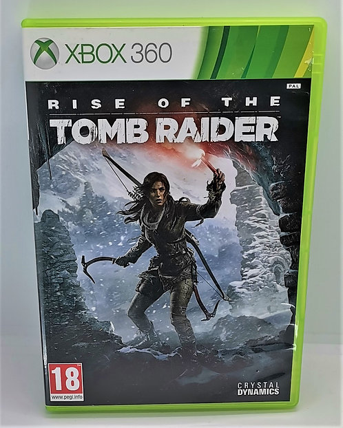 Rise of the Tomb Raider for Microsoft Xbox 360