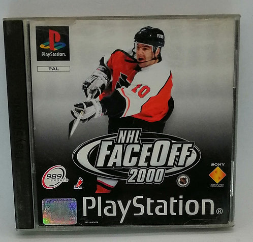 NHL FaceOff 2000 for Sony PlayStation PS1