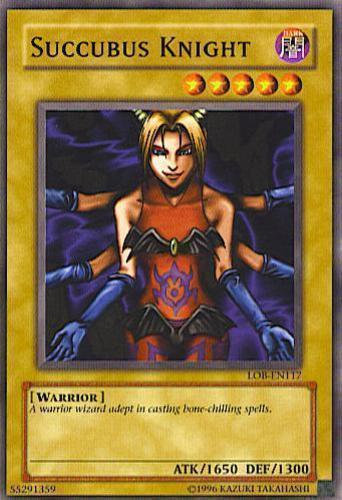 Yu-Gi-Oh! Card LOB-E095 Succubus Knight