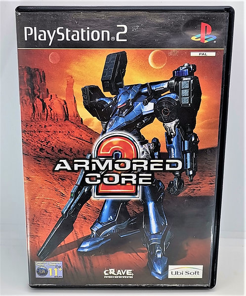 Armored Core 2 for Sony PlayStation 2 PS2