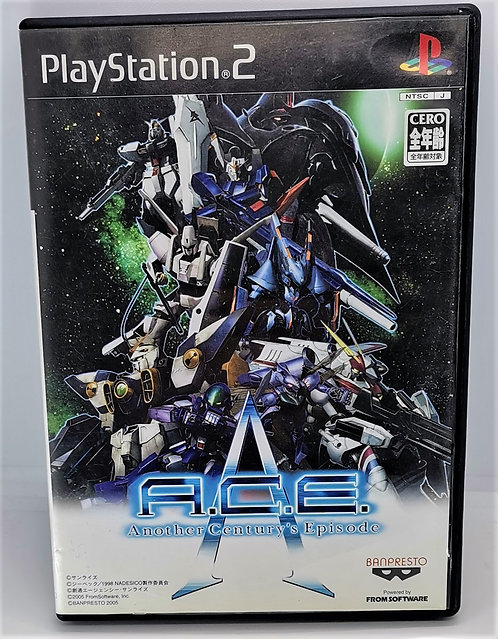 Another Century's Episode for Sony PlayStation 2 PS2