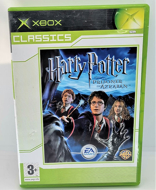 Harry Potter and the Prisoner of Azkaban for Microsoft Xbox