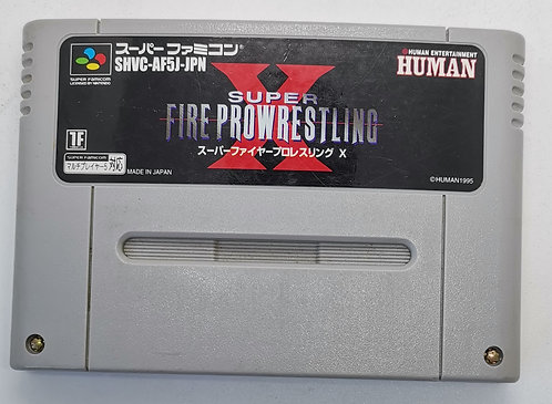 Super Fire Pro Wrestling X for Nintendo Super Famicom