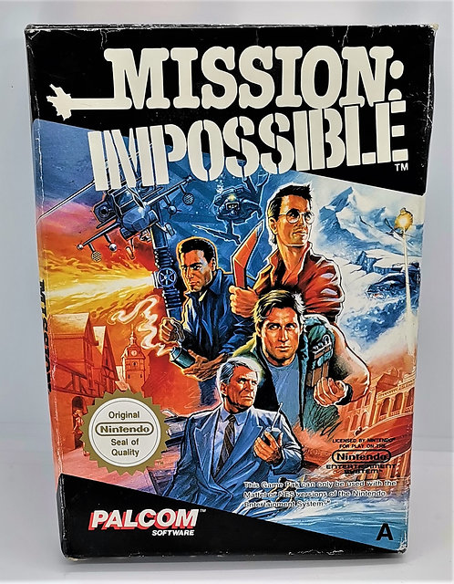 Mission: Impossible for Nintendo NES