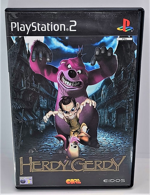 Herdy Gerdy for Sony PlayStation 2 PS2