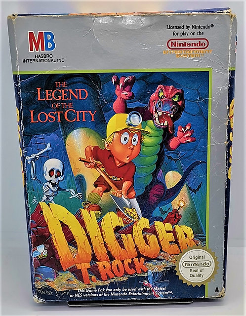 Digger T. Rock: Legend of the Lost City for Nintendo NES