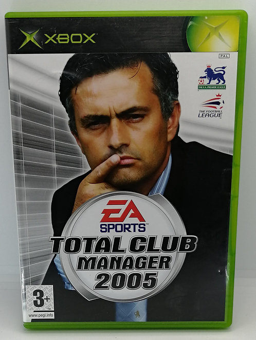 Total Club Manager 2005 for Microsoft Xbox