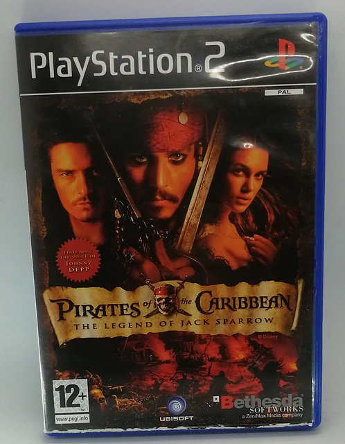 Pirates of the Caribbean: The Legend of Jack Sparrow for Sony PlayStatio