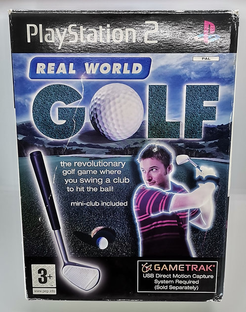 Real World Golf for Sony PlayStation 2 PS2