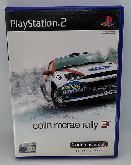 Colin McRae Rally 3 for Sony PlayStation 2 PS2