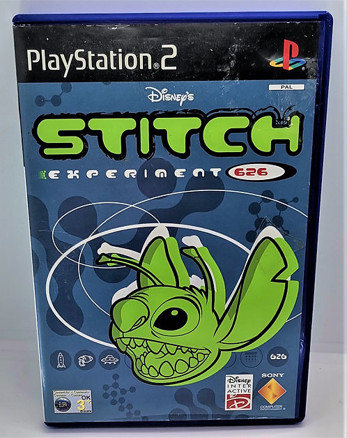 Stitch: Experiment 626 for Sony PlayStation 2 PS2