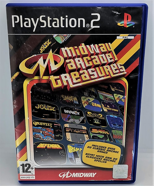 Midway Arcade Treasures for Sony PlayStation 2 PS2