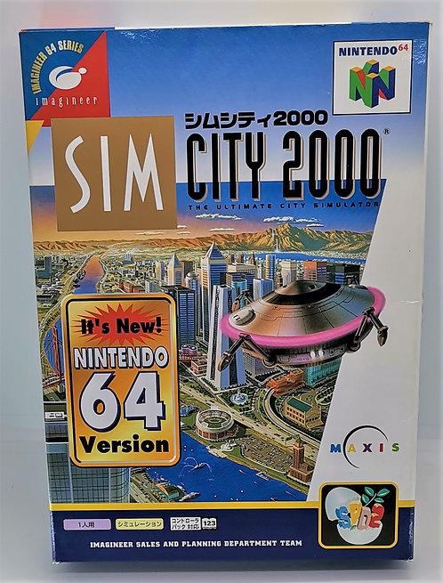 SimCity 2000 for Nintendo N64