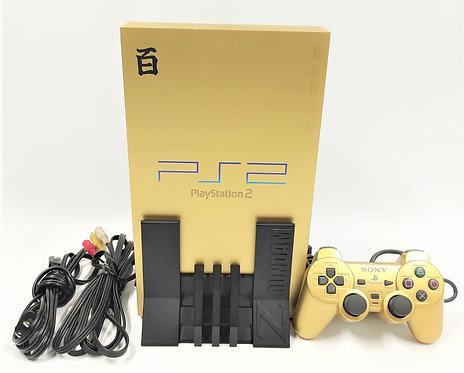 Sony PlayStation 2 PS2 (Gundam Gold Variant) Console