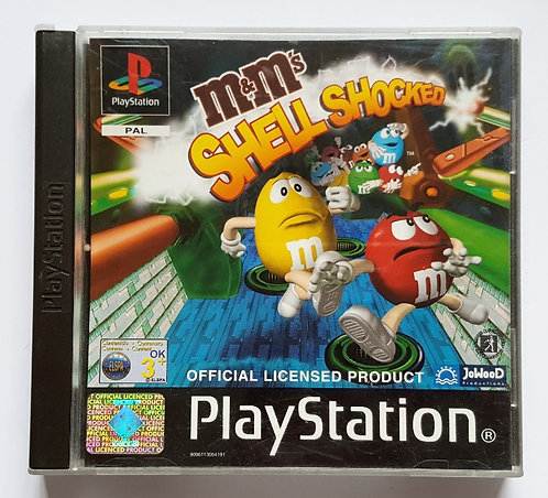 M&M's Shell Shocked for Sony PlayStation PS1