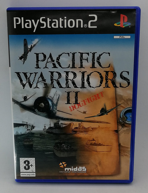 Pacific Warriors II: Dogfight for Sony PlayStation 2 PS2