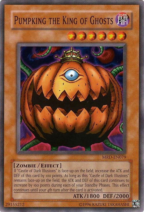 Yu-Gi-Oh! Card MRD-E079 Pumpking the King of Ghosts