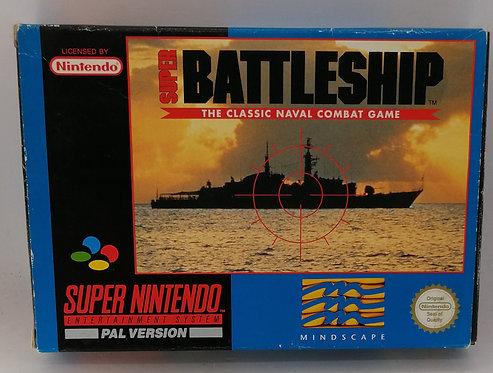 Super Battleship for Super Nintendo SNES