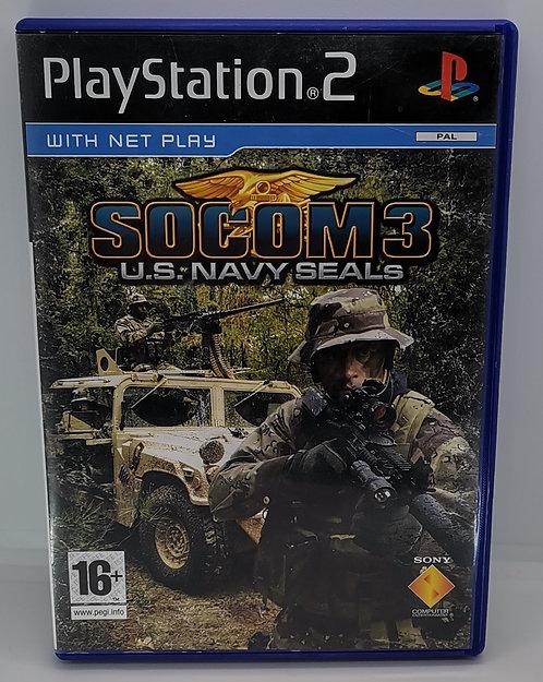 SOCOM 3 U.S. Navy SEALs for Sony PlayStation 2 PS2