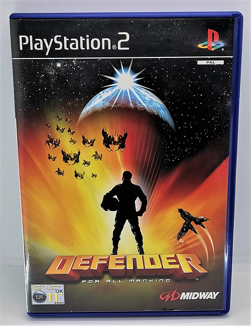 Defender for Sony PlayStation 2 PS2