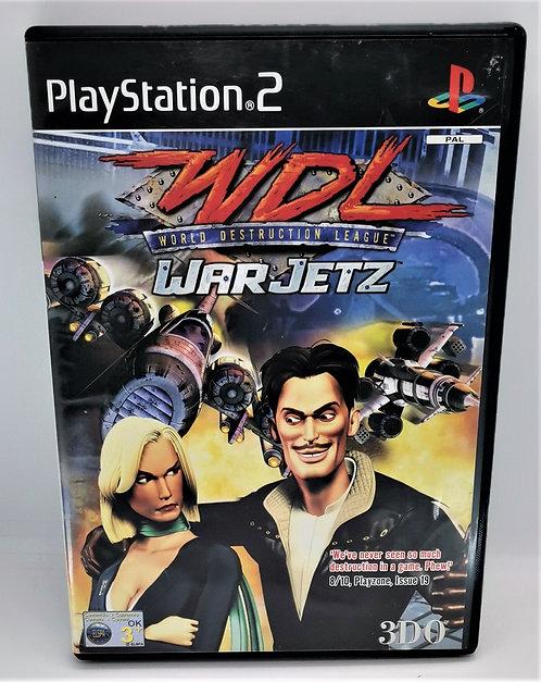 WDL: World Destruction League: WarJetz for Sony PlayStation 2 PS2