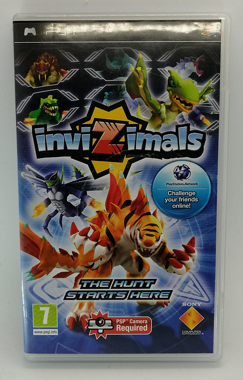 Invizimals for Sony PlayStation Portable PSP
