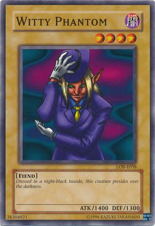 Yu-Gi-Oh! Card LOB-E058 Witty Phantom
