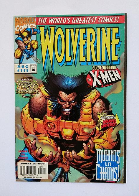 Wolverine Vol 2 #115