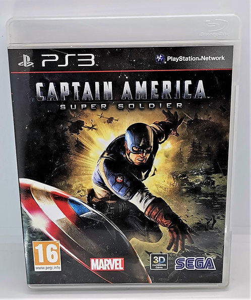 Captain America: Super Soldier for Sony PlayStation 3 PS3