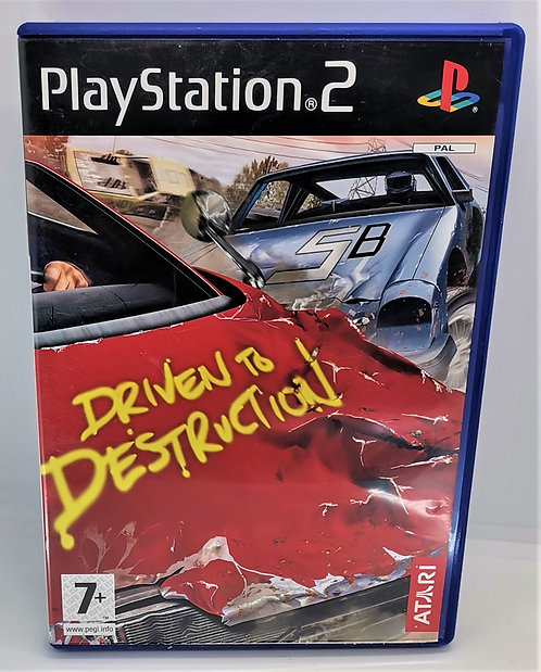 Driven to Destruction for Sony PlayStation 2 PS2