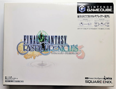 Final Fantasy Crystal Chronicles (Link Cable Box Set) for Nintendo GameCube