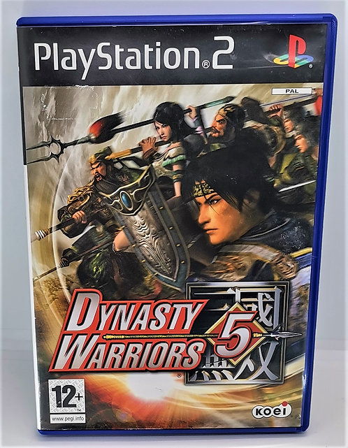 Dynasty Warriors 5 for Sony PlayStation 2 PS2