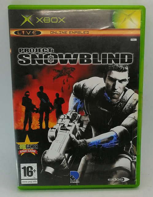 Project: Snowblind for Microsoft Xbox