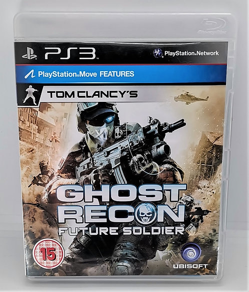 Tom Clancy's Ghost Recon: Future Soldier for Sony PlayStation 3 PS3