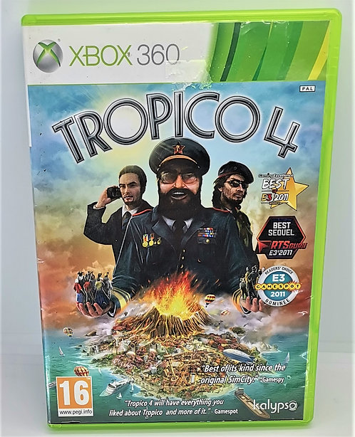 Tropico 4 for Microsoft Xbox 360