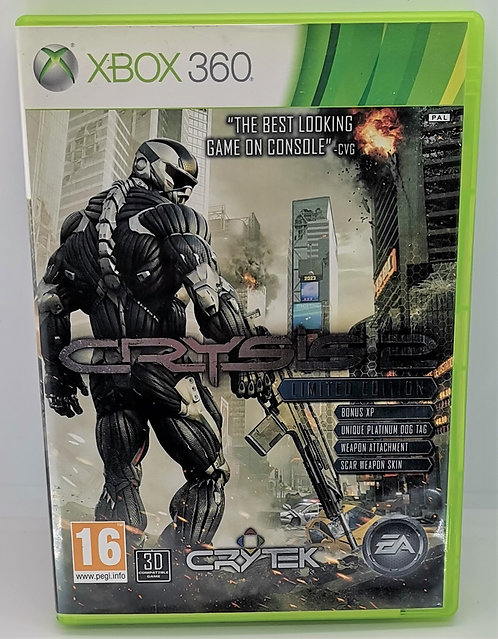 Crysis 2: Limited Edition for Microsoft Xbox 360