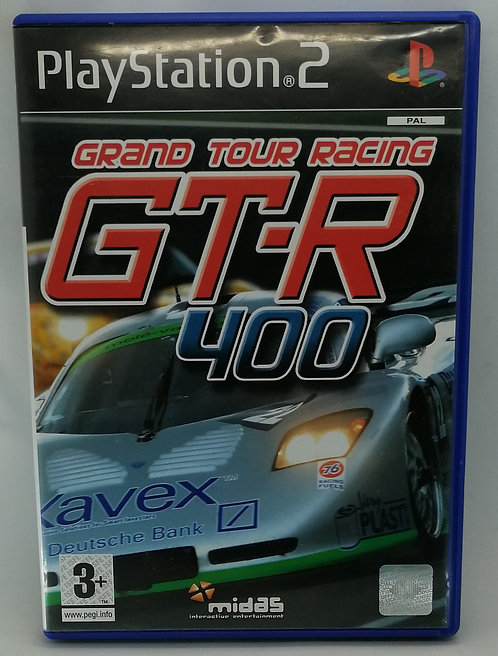 GT-R 400 for Sony PlayStation 2 PS2