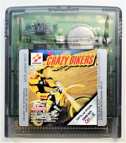 Crazy Bikers for Nintendo Game Boy Color